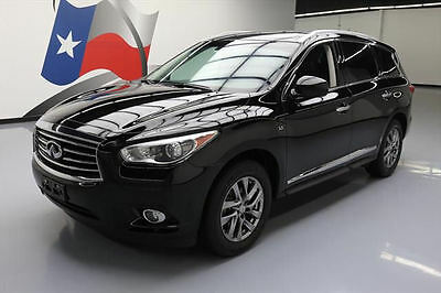 2014 Infiniti QX60 Base Sport Utility 4-Door 2014 INFINITI QX60 PREMIUM PLUS SUNROOF NAV 360-CAM 52K #525028 Texas Direct