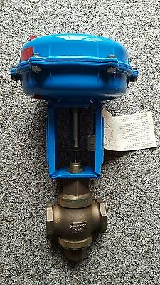 NEW Powers Process Controls 593SS125NCS FLOWRITE II * 3 Way Mixing Valve 1-1/4""
