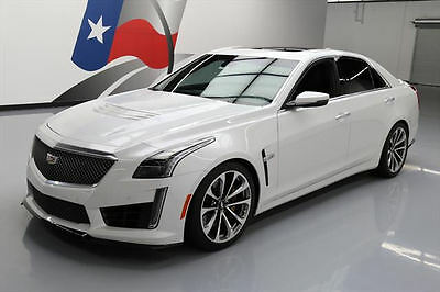 2016 Cadillac CTS V Sedan 4-Door 2016 CADILLAC CTS-V SUPERCHARGED PANO ROOF NAV 6K MILES #158934 Texas Direct