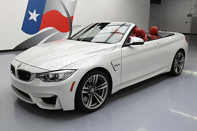 2015 BMW M4 Base Convertible 2-Door 2015 BMW M4 HARD TOP CONVERTIBLE EXECUTIVE NAV HUD 21K #968332 Texas Direct Auto