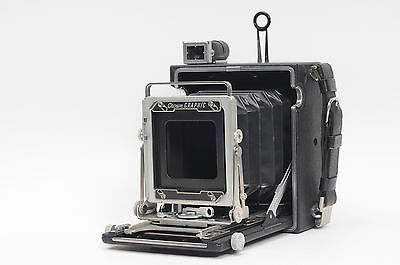 Graflex 34 Crown Graphic 3.25x4.25 Large Format Press/View Camera           #344