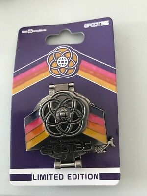 Disney Parks EPCOT 35th Anniversary Figment Hinge PIN NEW