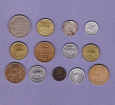Nepal - Coin Collection - Lot #B - World/Foreign/Asia
