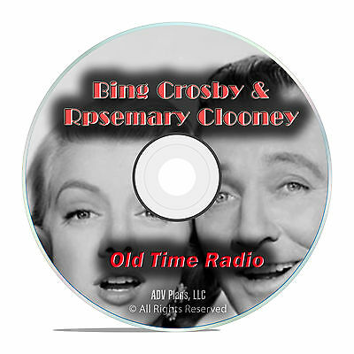 Bing Crosby, Rosemary Clooney, 776 Classic Old Time Radio Shows, OTR mp3 DVD G49