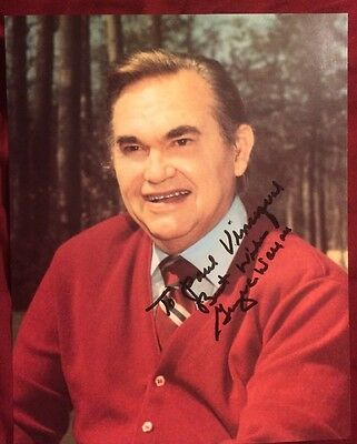 GEIRGE C WALLACE Signed Autographed PHOTO W/COA