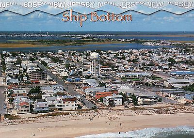 Aerial View of Ship Bottom New Jersey, Long Beach Island, Water Tower - Postcard