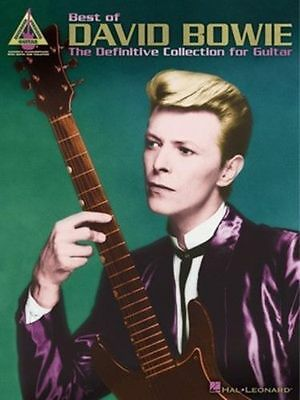 Best Of David Bowie Guitar Tab Song Book - Guitar Tablature Songbook