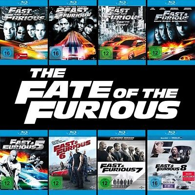 The Fast and the Furious 1 - 8 Collection (Paul Walker)          | Blu-ray | 053