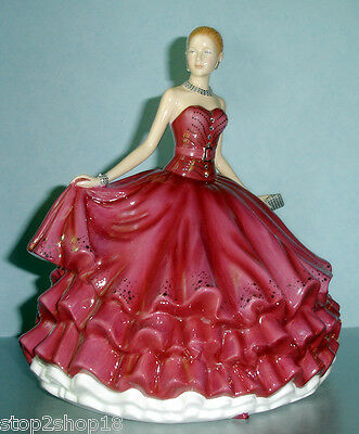 Royal Doulton Evening Rendezvous Figurine HN5788 Swarovski Crystal Ball New