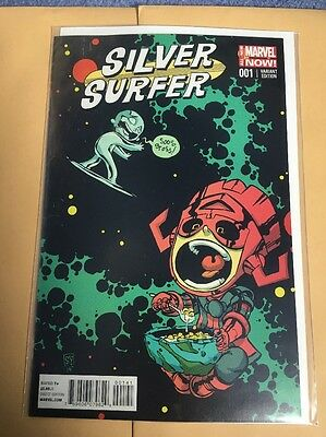 Silver Surfer Skottie Young Issue 1 Variant Brand New Unread