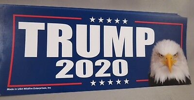 Wholesale Lot Of 20 Trump 2020 Campaign Sticker Eagle Re-Elect Decal '16 Donald