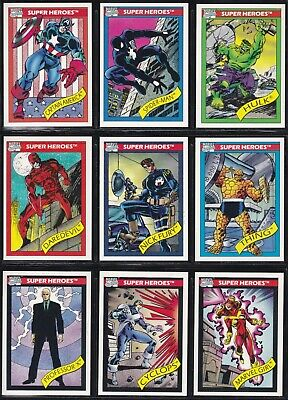 1990 Marvel Universe Trading Card Set Series 1 I You Pick Finish Your Set 1-81