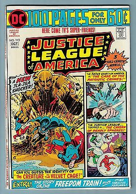 Justice League Of America # 113 Fnvf (7.0) Glossy- Dc 100 Pages- Cents- 50% Off