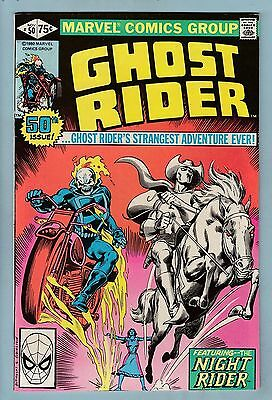 Ghost Rider # 50 Vfn+ (8.5)  Double-Size Issue- High Grade- Cents- 50% Off Guide