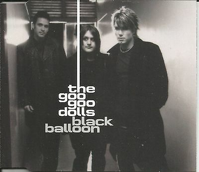 GOO GOO DOLLS Black balloon w/ RARE RADIO EDIT Europe CD single SEALD USA seller