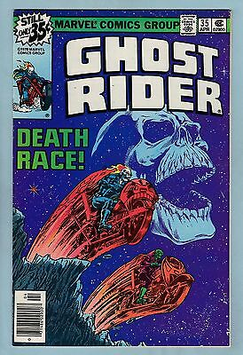 GHOST RIDER # 35 VFN+ (8.5)  DEATH RACE CLASSIC by STARLIN - HIGH GRADE - CENTS