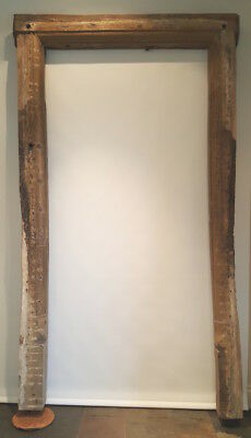 16/17th century carved oak doorframe Elizabethan ovolo moulded reclaimed antique