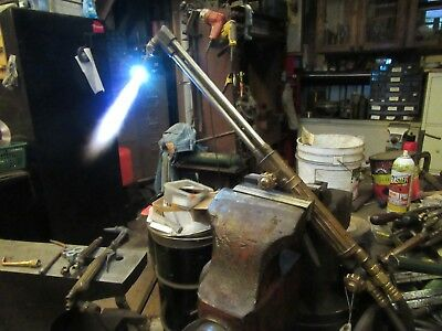 """Victor ST1200 Cutting Torch,22""""OAL, New Tip,GOOD Working~TESTED  #V8.20.17"""