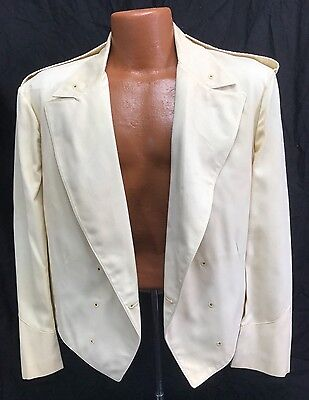 Vintage US Marine Corps Officers Formal Dinner Dress White Jacket