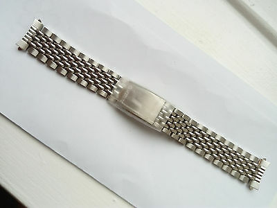 Seiko, Beads Of Rice Bracelet, 19mm, 60/70s, Original Seiko New Old Stock