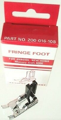 Janome Fringe Foot - Tailor Tacks, Chenille, Fagoting - High Shank
