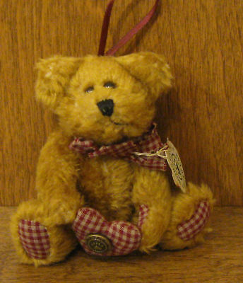 Boyds Plush Ornament #56201-02 EDNA MAY, NEW/Tag From Retail Store, Jointed