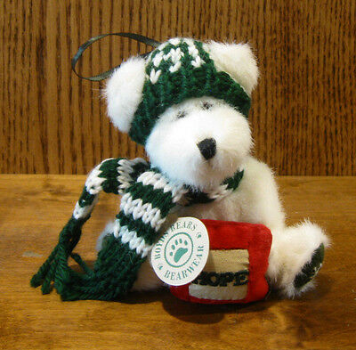 """Boyds Plush Ornament #56202-04 AIMEE BERRIFROST, HOPE 5.5"""" NEW From Retail Store"""