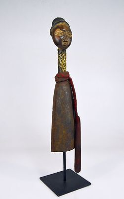 A Very Fine Kongo Bell with striker ~ African Art & Magic, African sculpture