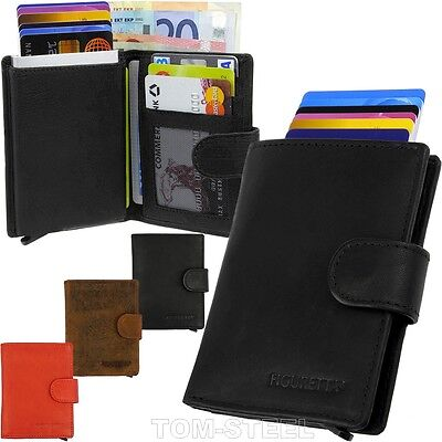 Figuretta Credit Card Case Minigeldbeutel Rfid Mini Wallet Miniportemonnaie