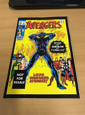 Awesome Avengers #87 Marvel Legends Reprint Variant Origin Of T'challa!!