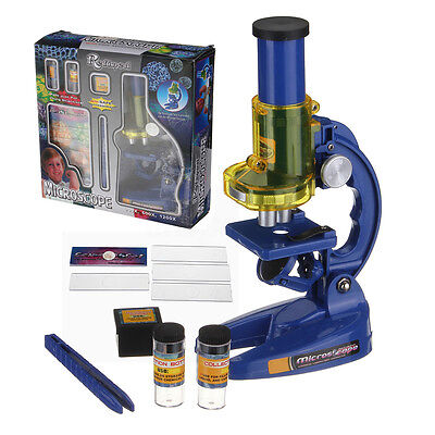 Educational Science Toy Student Junior Laboratory Lab Microscope Gift Christmas