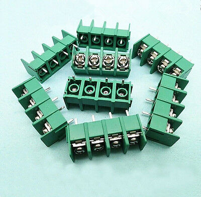 PCB Terminal Block Screw Connector MG/DG/KF7.62-2/3/4Way Pitch 7.6mm 300V 20A IL
