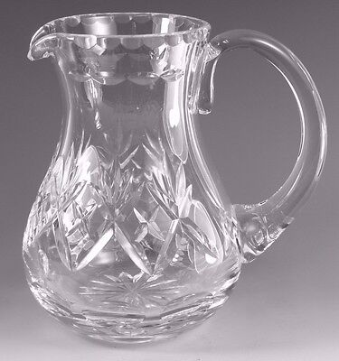 "Royal DOULTON Crystal - GEORGIAN Cut - Water Jug / Jugs - 6"" (2nd)"