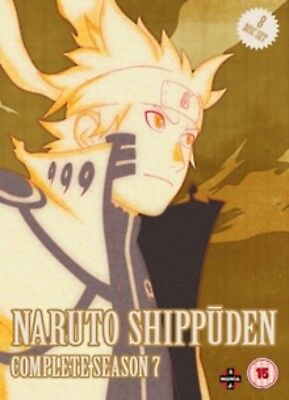 Naruto Shippuden Season 7 Series Seven Seventh (Jungko Takeuchi) New DVD Boxset
