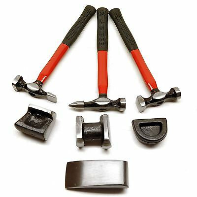 7pc Professional Drop Forged Body Repair Kit
