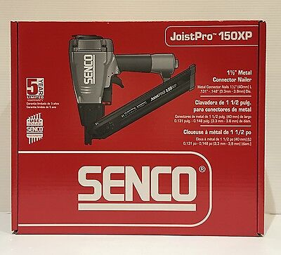 "Senco 7L0001N JoistPro 150XP 1-1/2"" Metal Connector Nailer, New Retail"