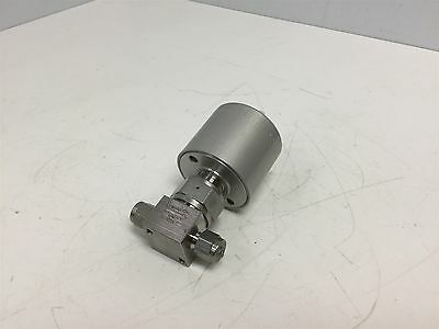 Swagelok SS-HBS4-C Stainless Steel High Pressure Bellow Valve, 1/4 Tube, NC