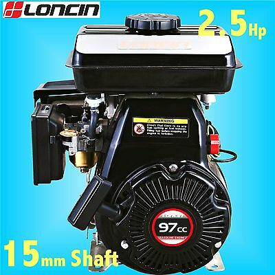Loncin LC152F-M Engine Replaces Honda GX100 in Wacker Plate Belle Cement Mixer