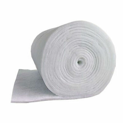 "Aquarium Filter Media Wadding Wool Floss Replacement Foam 12mm Thick 39""/1m Wide"