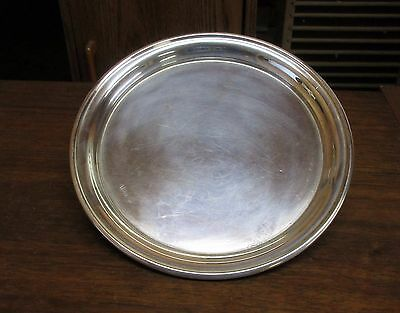 "Vintage Randahl Sterling Silver 7"" Round Plate 141 Grams Scrap or Not"