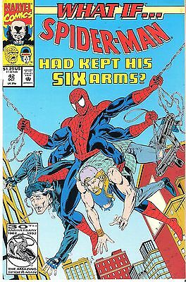 What If #42 Vol. 2 Spider-man Kept His Six Arms Marvel 1992 X-men Fantastic Four