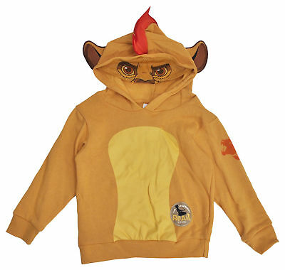 Lion Guard Kion Toddler Boys Costume Hoodie Sweatshirt w/ Mask
