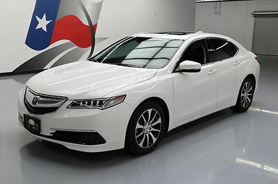 2015 Acura TLX  2015 ACURA TLX TECH HTD LEATHER SUNROOF NAV REARCAM 36K #014284 Texas Direct