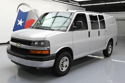 2014 Chevrolet Express  2014 CHEVY EXPRESS 2500 CARGO VAN 5PASS REAR CAM 69K MI #142483 Texas Direct