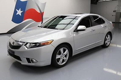 2012 Acura TSX Base Sedan 4-Door 2012 ACURA TSX AUTOMATIC SUNROOF HTD LEATHER XENONS 66K #001984 Texas Direct
