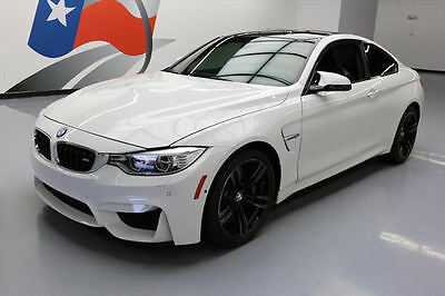 2015 BMW M4 Base Coupe 2-Door 2015 BMW M4 COUPE M DCT HTD SEATS NAV REAR CAM HUD 25K #331676 Texas Direct Auto
