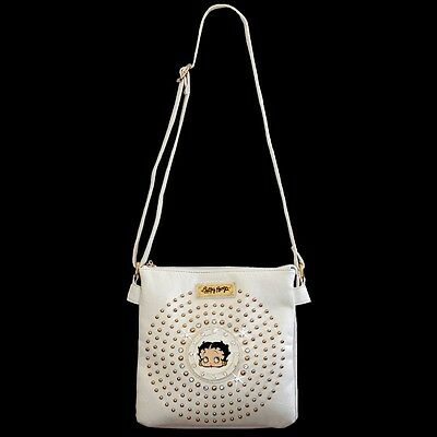 Betty Boop Rhinestone Double Compartment Envelope Bag by Sharon White KF-4002