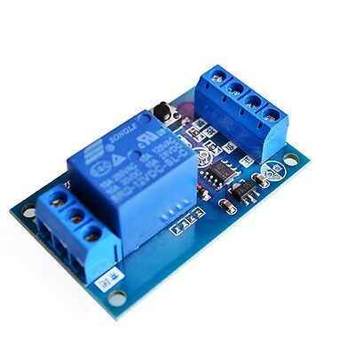 5V Single-button Bistable Bistable Relay Module Car Mdified Switch Self-locking