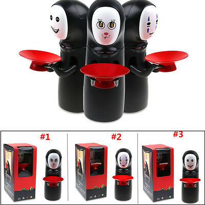 Spirited Away Kaonashi No-Face Automatic Eaten Coin Saving Money Box Piggy Bank