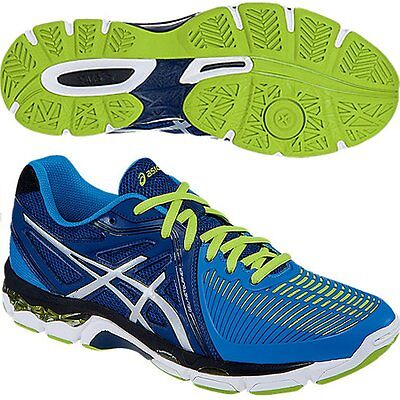 Mens asics Netburner Ballistic Volleyball Trainers Shoes Size 14  Eur 50.5 Court